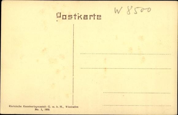 Ak Nürnberg in Mittelfranken Bayern, Fleischerbrücke, Passanten, Wohnhäuser 1