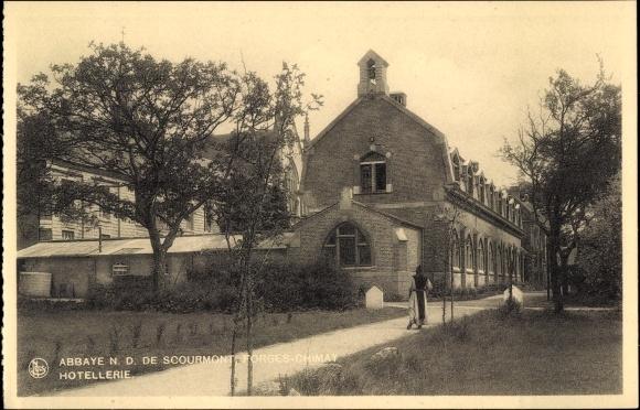 Ak Forges Chimay Wallonien Hennegau, Abbaye N. D. de Scourmont, Hôtellerie