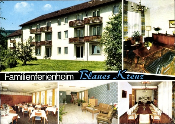 Ak Burbach Nordrhein Westfalen, Familienferienheim Blaues Kreuz  0