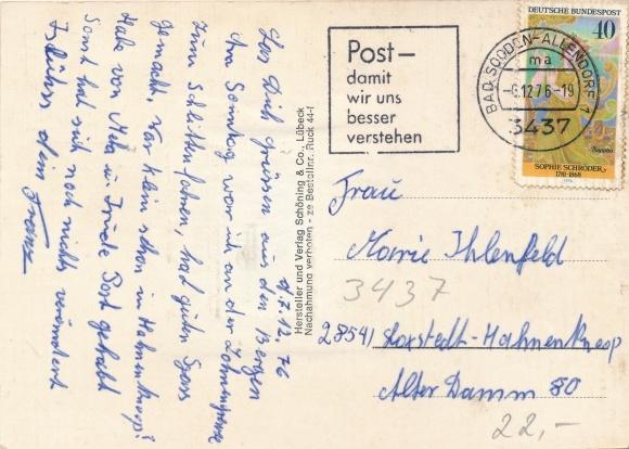 Leporello Ak Bad Sooden Allendorf in Hessen, Mädchen aus dem Hessenland  1