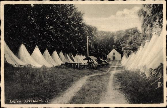 Ak Lejre Dänemark, Arresodal 1, Zeltlager 0