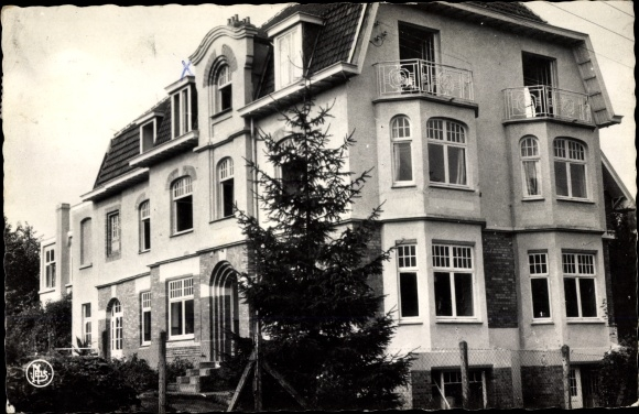 Ak Linkebeek Flandern Flämisch Brabant, Home Santé Travail 0