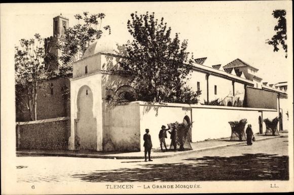 Ak Tlemcen Algerien, La Grande Mosquée, Moschee 0