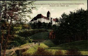 Ak Hösel Ratingen Nordrhein Westfalen, Genesungsheim d. Verbandes d. Krankenkassen Düsseldorfs