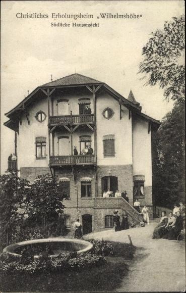 Ak Buckow in der Märkischen Schweiz, Christliches Erholungsheim Wilhelmshöhe, Frauen im Garten