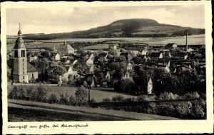 Ak Sehmatal Cranzahl im Erzgebirge, Totalansicht vom Ort, Kirchturm
