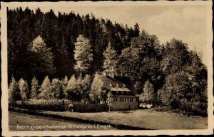 Ak Rittersgrün Breitenbrunn im Erzgebirge, Bezirksjugendherberge  Rittersgrün