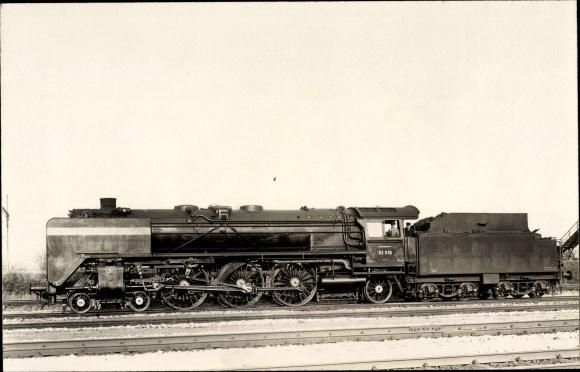 Foto Ak Deutsche Eisenbahn, Dampflokomotive, 01078, Tender