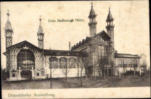 Ak Düsseldorf am Rhein, Ausstellungsgelände, Gute Hoffnungs Hütte