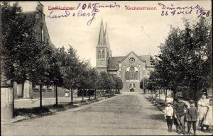 Ak Tschernyschewskoje EydtkauEydtkuhnen Ostpreußen, Kirchenstraße