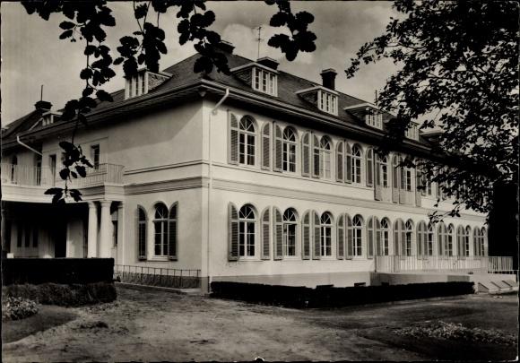 Ak Reinbek Schleswig Holstein, Haus der Jugendarbeit, Jugendbehörde Hamburg, Außenansicht