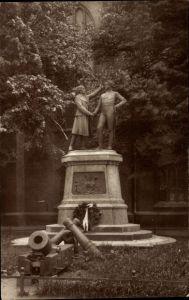 Ak Kołobrzeg Kolberg Pommern, Nettelbeck- und Gneisenau Denkmal