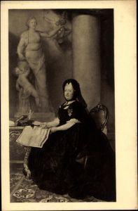 Künstler Ak Maron, A. von, Erzherzogin Maria Theresia von Österreich, Portrait