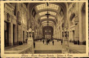 Ak Milano Mailand Lombardia, Nuova Stazione Centrale, Galleria di Testa, Hauptbahnhof