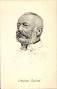 Künstler Ak Erzherzog Friedrich von Österreich Teschen, Portrait, Stengel 49141