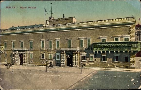 Ak Malta, Royal Palace, Palast