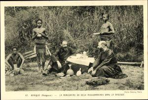 Ak Madagaskar, La Rencontre de deux Missionaires dans la Brousse