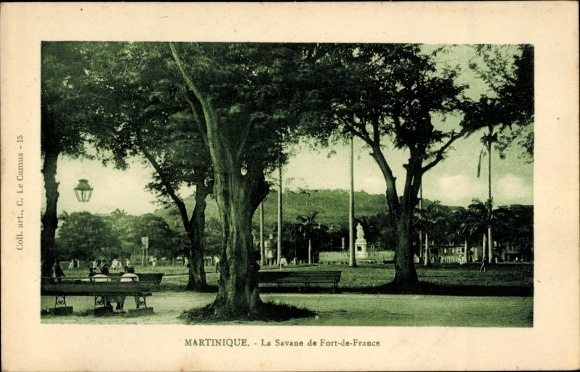 Ak Fort de France Martinique, La Savane