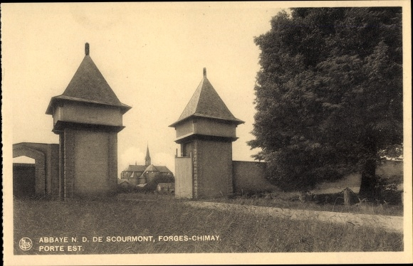Ak Forges Chimay Wallonien Hennegau, Abbaye N. D. de Scourmont, Porte Est
