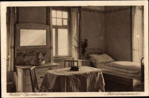Ak Elgershausen Schauenburg in Nordhessen, Waldhof, Patientenzimmer