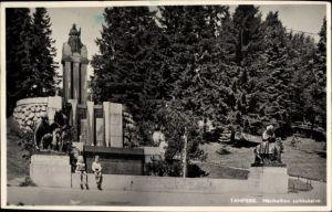 Ak Tampere Tammerfors Westfinnland, Näsikallion suihkukaivo, Denkmal