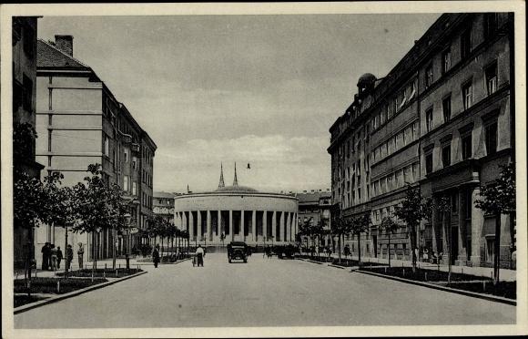 Ak Zagreb Kroatien, Beogradska ulica