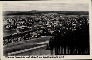 Ak Vejprty Weipert Region Aussig, Blick vom Bärenstein