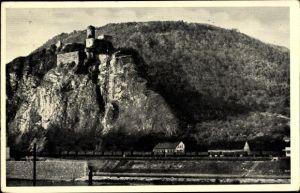 Ak Střekov Schreckenstein Ústí nad Labem Aussig Elbe Stadt Reg. Aussig, Panorama vom Ort