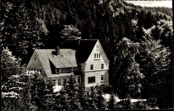 Ak Oerlinghausen Nordrhein Westfalen, Bielefelder Naturfreundehaus am Tönsberg