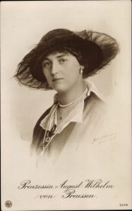 Ak Alexandra Viktoria von Schleswig Holstein Sonderburg Glücksburg, Portrait, NPG 5379