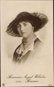 Ak Alexandra Viktoria von Schleswig Holstein Sonderburg Glücksburg, NPG 5379
