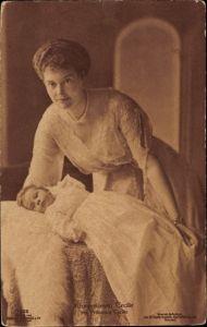 Ak Kronprinzessin Cecilie von Preußen, Tochter Prinzessin Cecilie, Liersch 7905