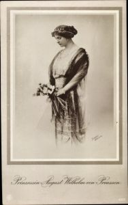 Ak Alexandra Viktoria von Schleswig Holstein Sonderburg Glücksburg, NPG 4579