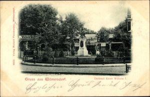 Ak Berlin Wilmersdorf, Denkmal Kaiser Wilhelm I., Victoria Garten