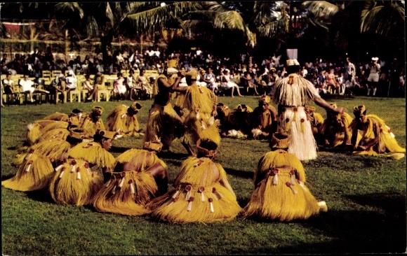 Ak Tahiti, Danse Tahtienne