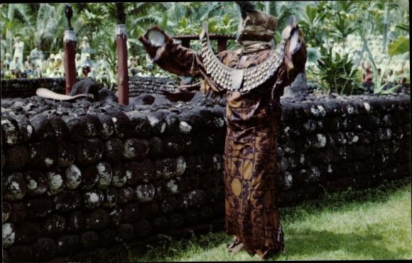 Ak Tahiti, reconstitution historique de la cérémonie