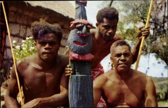 Ak Neukaledonien, types ethniques de Calédoniens et Loyaltiens