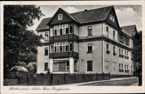 Ak Sokołowsko Görbersdorf Schlesien, Haus Bergfrieden