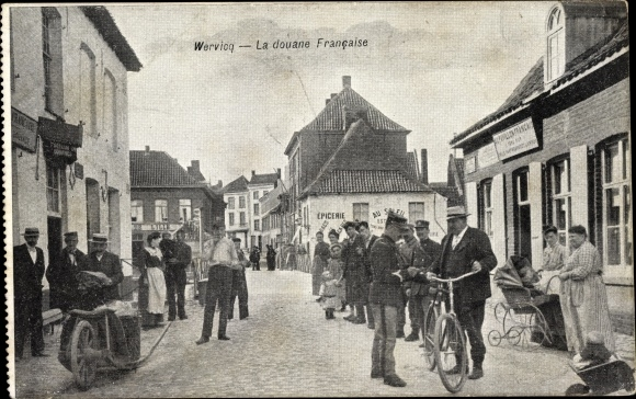 Ak wervicq sud nord la douane française nr oldthing