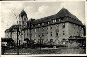 Ak Hösel Ratingen Nordrhein Westfalen, Genesungsheim, Außenansicht
