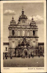Ak Vilnius Wilna Wilno Litauen, St. Kasimirkirche