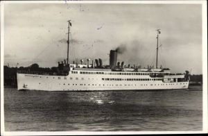 Ak Passagierschiff MS Hansestadt Danzig, Norddeutscher Lloyd