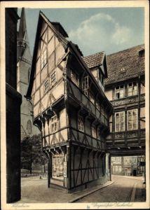 Ak Hildesheim in Niedersachsen, Umgestülpter Zuckerhut, Außenansicht