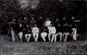 Foto Ak Kuk Soldaten in Uniformen, Gruppenportrait