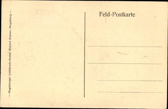 Gedicht Ak Am Grabe des Kameraden, Soldatenfriedhof, Soldatengräber ...