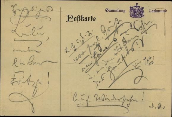Künstler Ak Hamburg Kostümfest 1913 Gedicht Von Leo Wolf Segelschiff