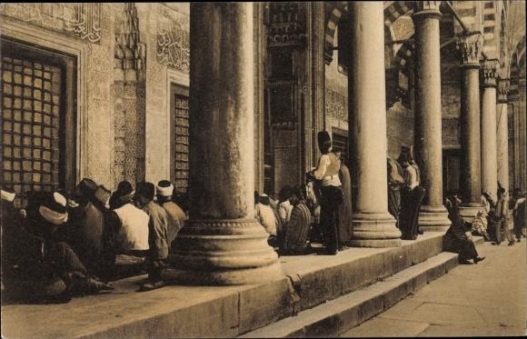 Ak Konstantinopel Istanbul Türkei, Musulmans en priere, Muslime beim Gebet