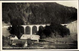 Ak Breitnau im Schwarzwald, Höllental, Höllensteig, Ravennaviadukt, Brücke