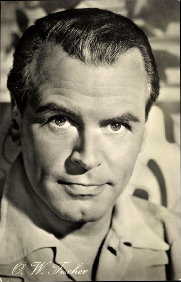 Ak Schauspieler O.W. Fischer, Portrait