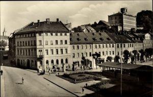 Ak Schleiz im Vogtland Thüringen, Neumarkt, HO Eisdiele